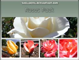 Roses Pack 1 by shelldevil