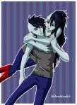 Marshall Lee and Marceline - Adventure Time by Nanaruko