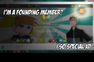 Founding Member?!? (Player.Me) by Vendus