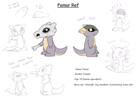 Femur ref by X--O
