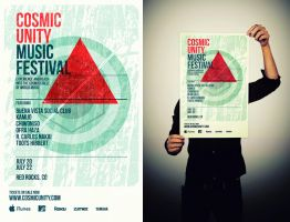Cosmic Unity Music Festival by LouieHitman