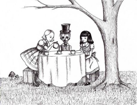 The Tea Party by chocolatehomicide