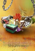 Nazareth College Art Show Post by V1sualPoetry