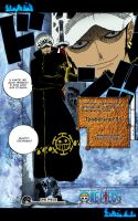 Trafalgar Law Manga Coloring by CamelieMimika