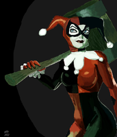 Harley Quinn by gilly15
