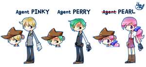 'Agent P' by 13Hael