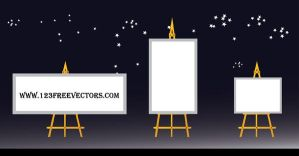 Billboard Vector by 123freevectors