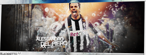 Alessandro del piero by BlacksDA