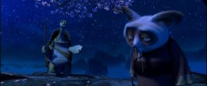 oogway and shifu by dungortheb