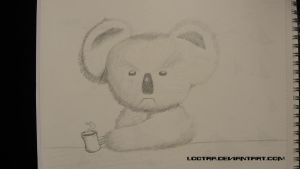 Practice drawing: What are you looking at! by Lootra