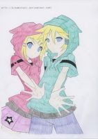 Rin and Len by pixielicious101