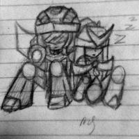 Sleepy chibi's by SupremeAnimeNinja