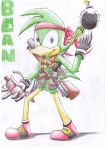 Bean The First Gunman by Dogwhitesector