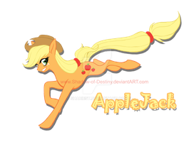 My little Pony - AppleJack by Shadow-of-Destiny