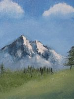 My First Landscape Painting by Azterion