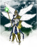Angemon: The Garbed Light by Kiarou