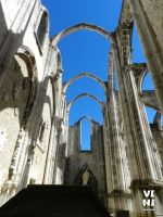Ruins of the Carmo Convent, Lisbon #1 by ViniVix