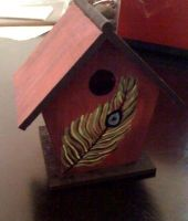 .feather birdhouse. by RebelWaltz