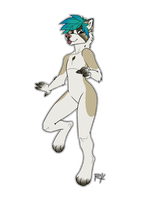 Weird Pose Dog Thing by Hazelmere