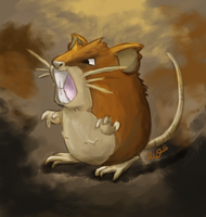 Raticate by Metterschlingel