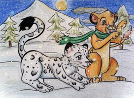 Simba in Winter #051 by Eiki331