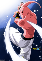 Dragon Ball Z - Kid Buu by Miguele77