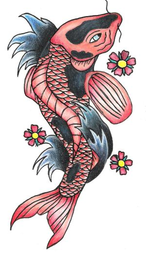 Top Side Body Tattoo Designs With Koi Tattoos Pictures Specially Japanese