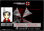 Umbrella ID Card by koolman505