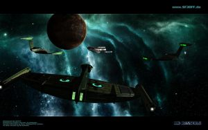 Romulan Attack by MrRonsfield