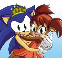 Sonic's Little Princess by SemiAverageArtist