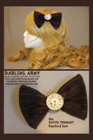 Timelord Bow - David Tennant- Darling Army by DarlingArmy