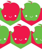Apple Pattern by pedronekoi