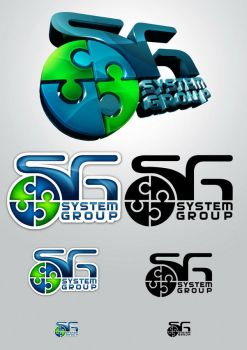 SystemGroup Logo set1 by lordofpersia