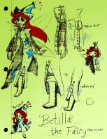Concept for Rayman Animatic: Betilla by Skull-gum