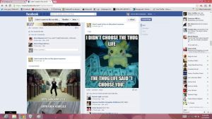omg im all over facebook by TakkunZX