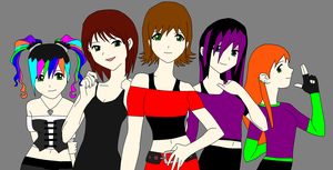 All The Girls by PaddysDemon