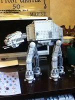Lego Star wars AT AT Walker by lol20