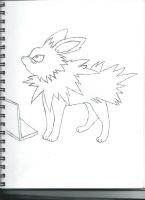 Me as a jolteon holy crap by dawndahedgehog