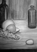 Still Life in Charcoal by Missvirginia