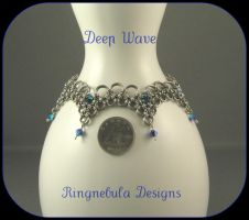 Deep Wave bracelet by ringnebula