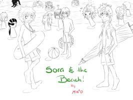 Sora and the Beach cover LA by ttn008