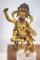 Lion Faced Kachuma Qing Dynasty Wanshou Temple by davidmcb