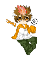 AT:Tsundere Tsuna~ by RouIettePrince