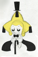 Bill Cipher!Jirachi by PuccaFanGirl