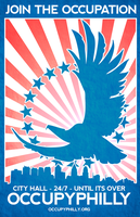 OccupyPhilly - Join Us Eagle by luvataciousskull