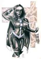 ROGUE PIN UP COMMISSION 2013 by barfast