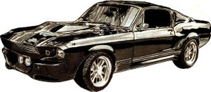 Shelby GT500 by Shigdioxin