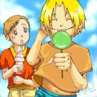 Edward and Alphonse FMA by cheryl-chan