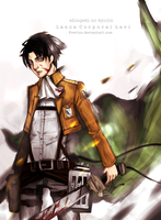 LANCE CORPORAL LEVI by Everinn
