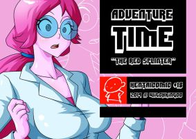 ADVENTURE TIME COMIC THE RED SPLINTER NOW! :) by Witchking00